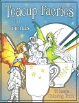 Amy Brown Coloring Book Teacup Faeries and Friends