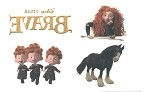 Brave Merida Temporary Tattoo Sheet
