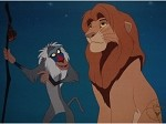 The Lion King Simba and Rafiki, Lithograph Print 11