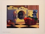 Lilo & Stitch Laundry Day, Lithograph Print 11