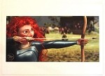 Brave Merida Shooting Arrow, Lithograph Print 11