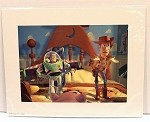 Toy Story, Buzz Lightyear & Sheriff Woody, Lithograph Print 11