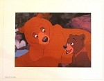 Brother Bear Kenai & Koda Lithograph Print 11