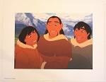 Brother Bear Kenai, Sitka and Denali, Lithograph Print 11