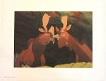 Brother Bear Moose Duo Tuke & Rutt, Lithograph Print 11