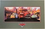 Cars Radiator Springs, Lithograph Print 11
