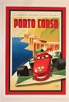 Cars Porto Corsa World Grand Prix Poster, Lithograph Print 10