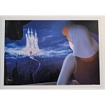 Cinderella and Castle, Print 10