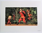 The Incredibles Family, Lithograph Print 11