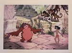 The Jungle Book, Mowgli & King Louie, Lithograph Print 10