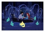 Little Mermaid, & Prince Erik Lithograph Art Print 11