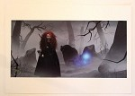 Brave Merida in Forest Fog, Lithograph Print 11