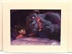 Monsters Inc Sully & Boo, Lithograph Print 11