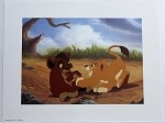 The Lion King 2 Kiara and Kovu, Lithograph Print 11