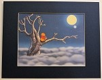 Winnie the Pooh, Moonlight, Lithograph Print 11
