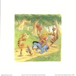 Winnie the Pooh Crew, Lithograph Print 8