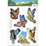 Disney Tinker Bell Faeries Puffy Stickers