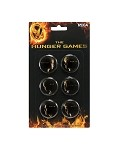Hunger Games Set of Six Buttons