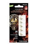 Catching Fire #105 Tawney Flames Nail Art Stickers