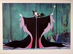 Sleeping Beauty, Evil Queen Malificent, Lithograph Print 10