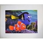 Finding Nemo & Dory, Lithograph Print 11