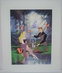 Sleeping Beauty Aurora & Prince Charming, Lithograph Print 11